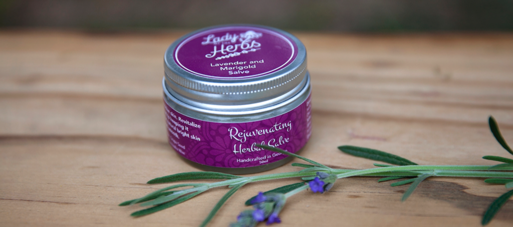 Rejuvenating Herbal Salve for beautiful skin